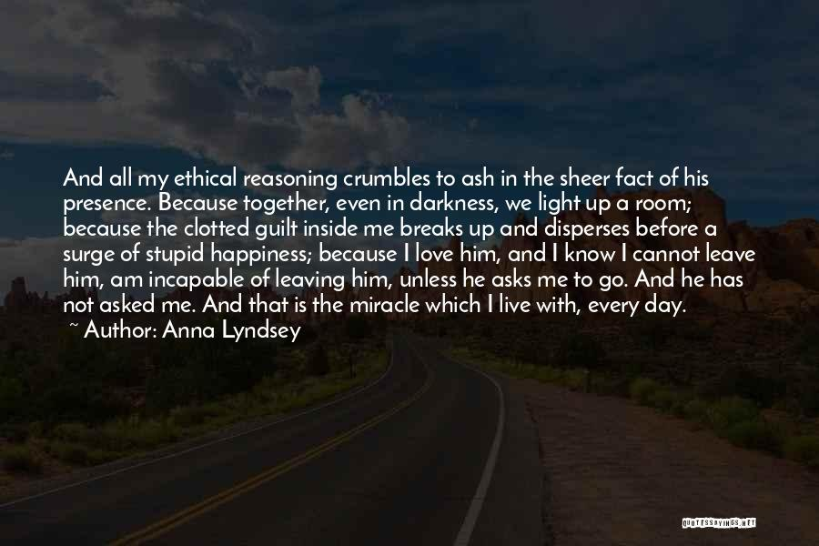 Darkness And Love Quotes By Anna Lyndsey