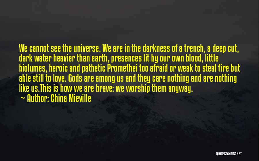 Darkness And Love Quotes By China Mieville