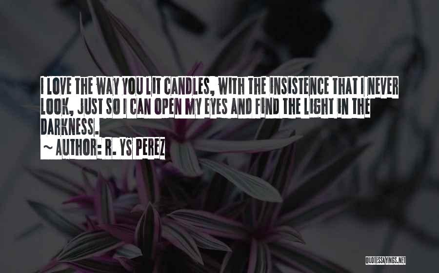 Darkness And Love Quotes By R. YS Perez