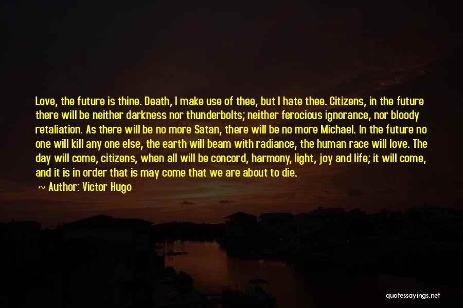 Darkness And Love Quotes By Victor Hugo