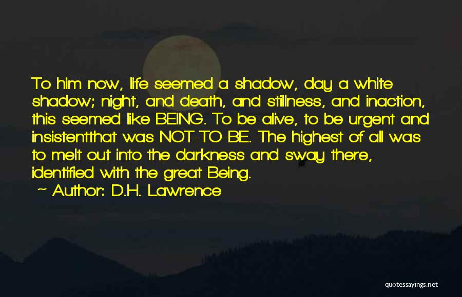 Darkness Of The Night Quotes By D.H. Lawrence