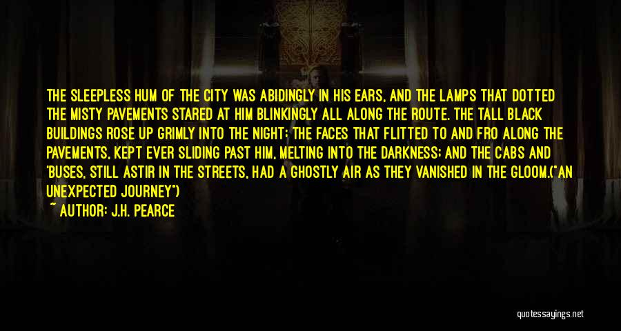 Darkness Of The Night Quotes By J.H. Pearce