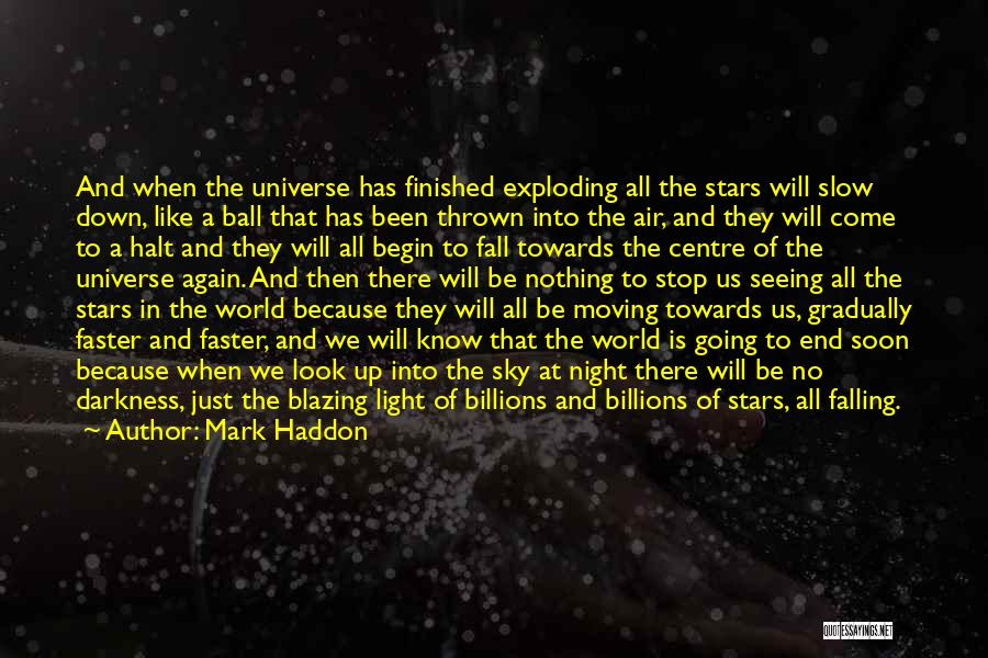 Darkness Of The Night Quotes By Mark Haddon