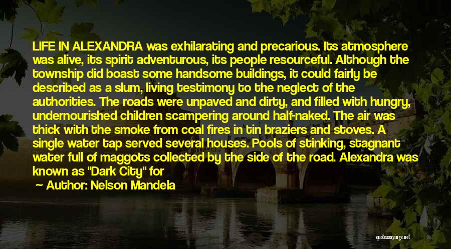 Darkness Of The Night Quotes By Nelson Mandela