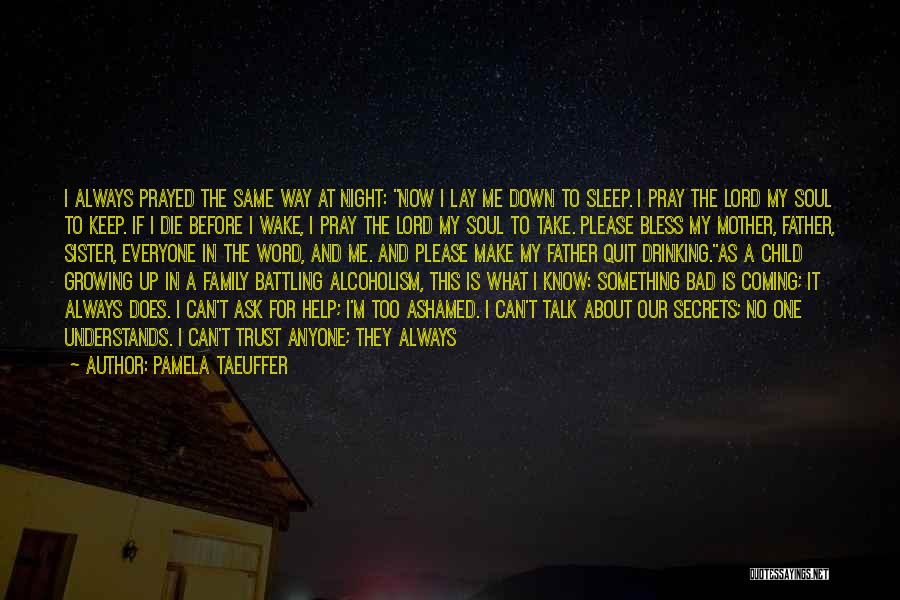 Darkness Of The Night Quotes By Pamela Taeuffer