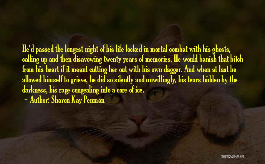 Darkness Of The Night Quotes By Sharon Kay Penman