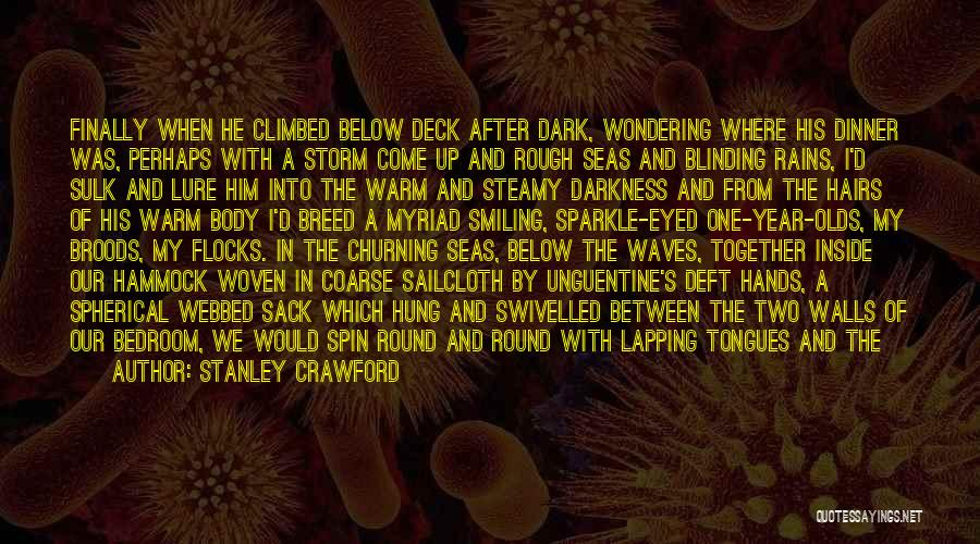 Darkness Of The Night Quotes By Stanley Crawford