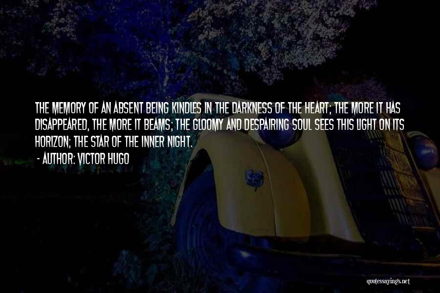 Darkness Of The Night Quotes By Victor Hugo
