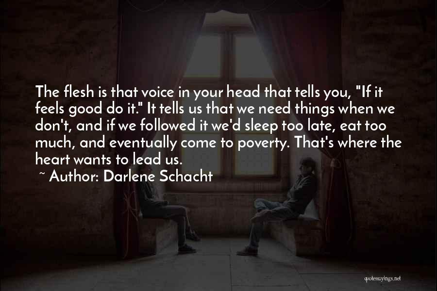Quotes darlene schacht Darlene Schacht