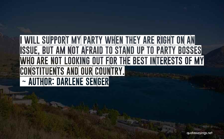 Darlene Senger Quotes 1725743