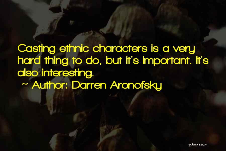 Darren Aronofsky Quotes 1339915