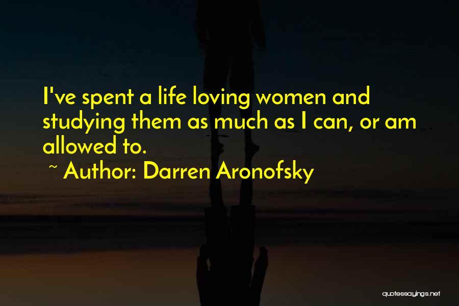 Darren Aronofsky Quotes 187121