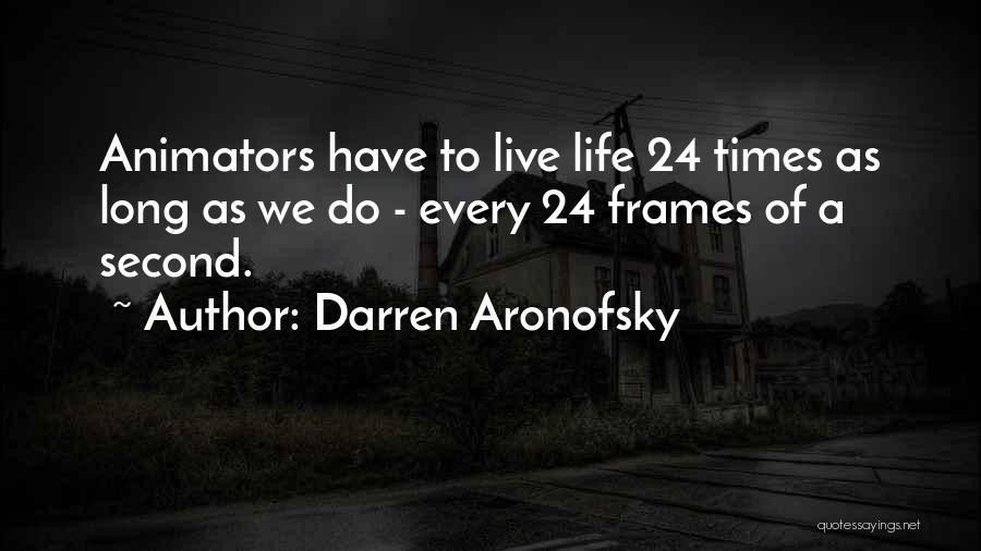 Darren Aronofsky Quotes 190736