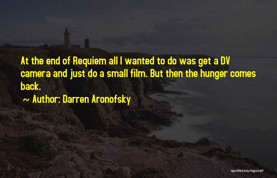 Darren Aronofsky Quotes 217005