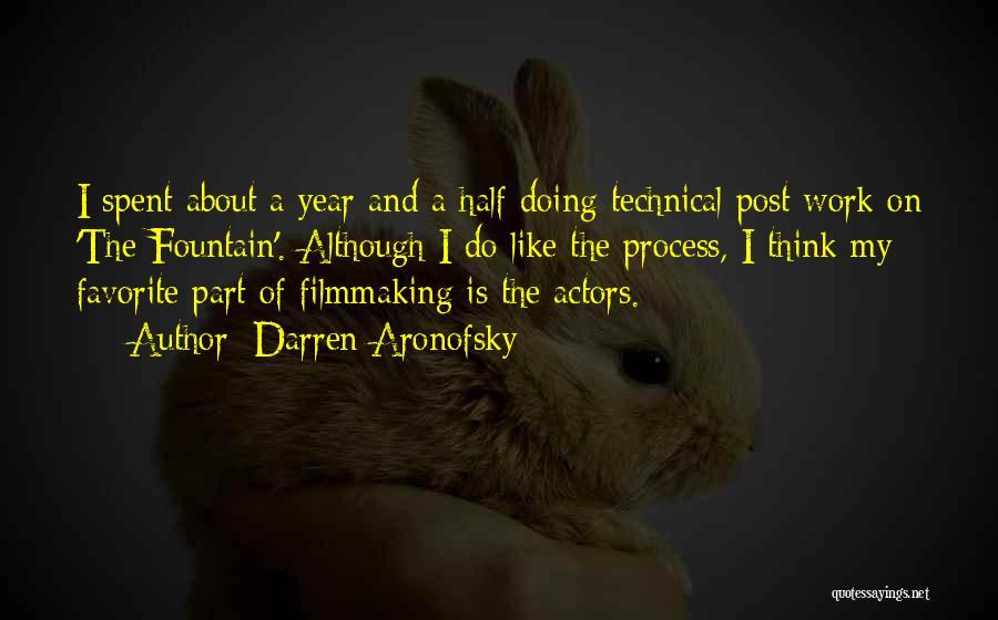Darren Aronofsky Quotes 2180557