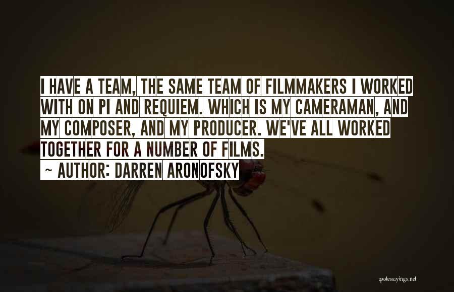 Darren Aronofsky Quotes 239938