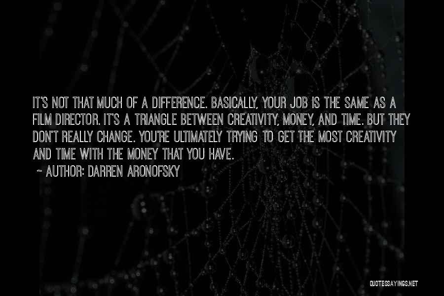 Darren Aronofsky Quotes 462636