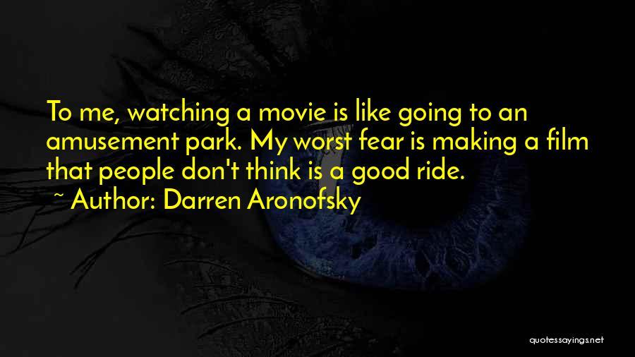 Darren Aronofsky Quotes 501701