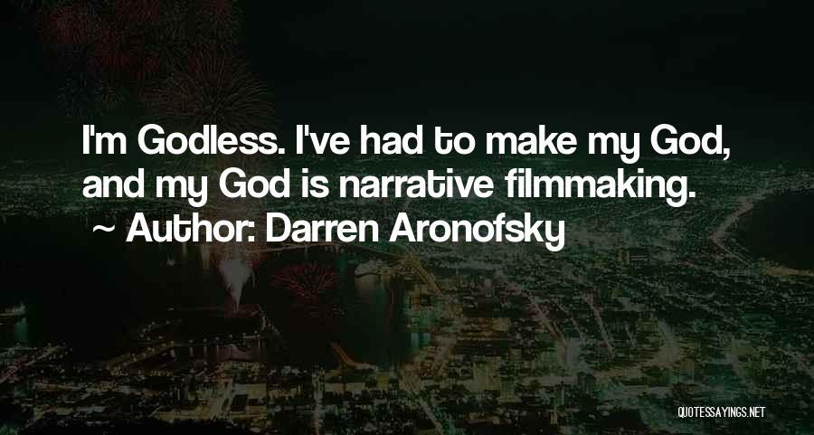 Darren Aronofsky Quotes 551704