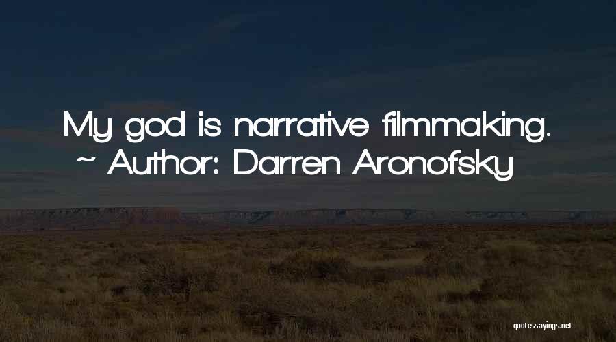 Darren Aronofsky Quotes 603602