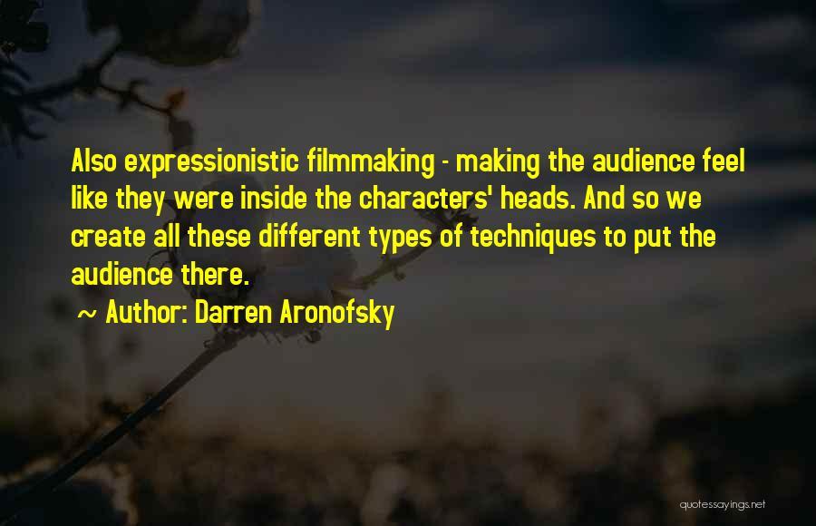 Darren Aronofsky Quotes 733285