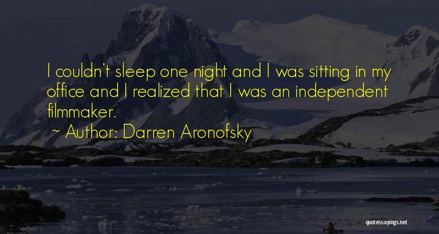 Darren Aronofsky Quotes 759955