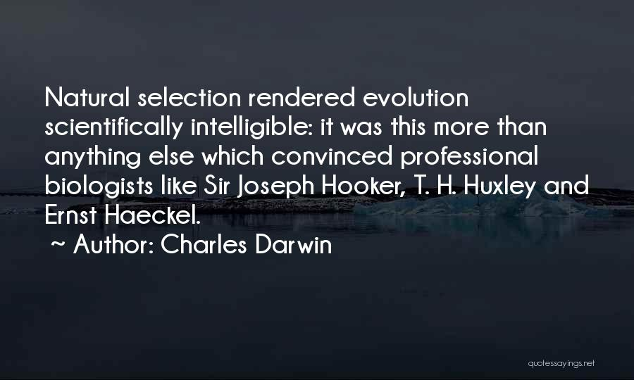 Darwin Natural Selection Quotes By Charles Darwin