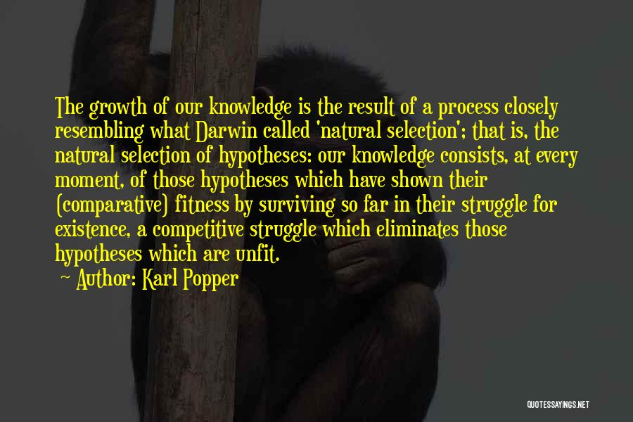 Darwin Natural Selection Quotes By Karl Popper