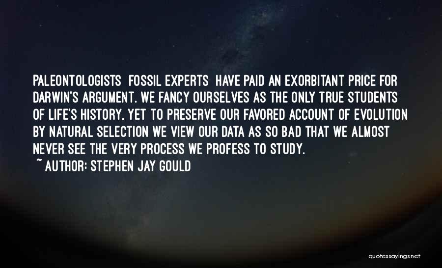 Darwin Natural Selection Quotes By Stephen Jay Gould
