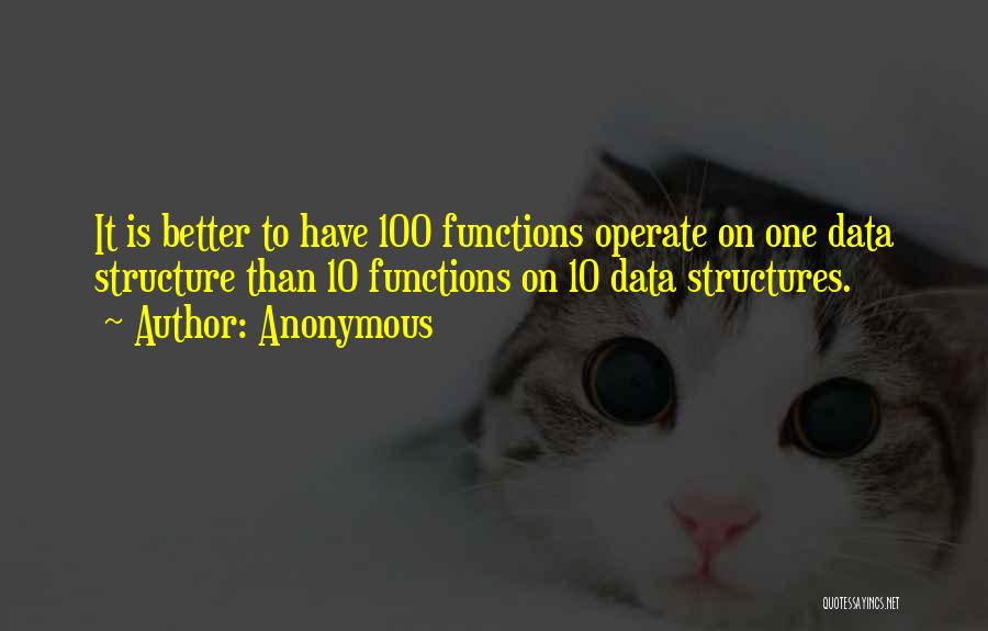 Data Structures Quotes By Anonymous