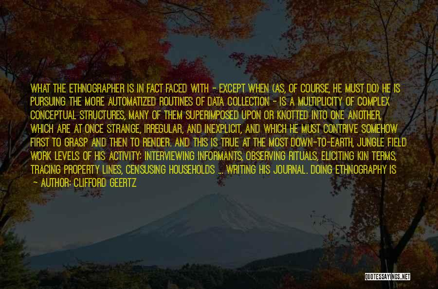 Data Structures Quotes By Clifford Geertz