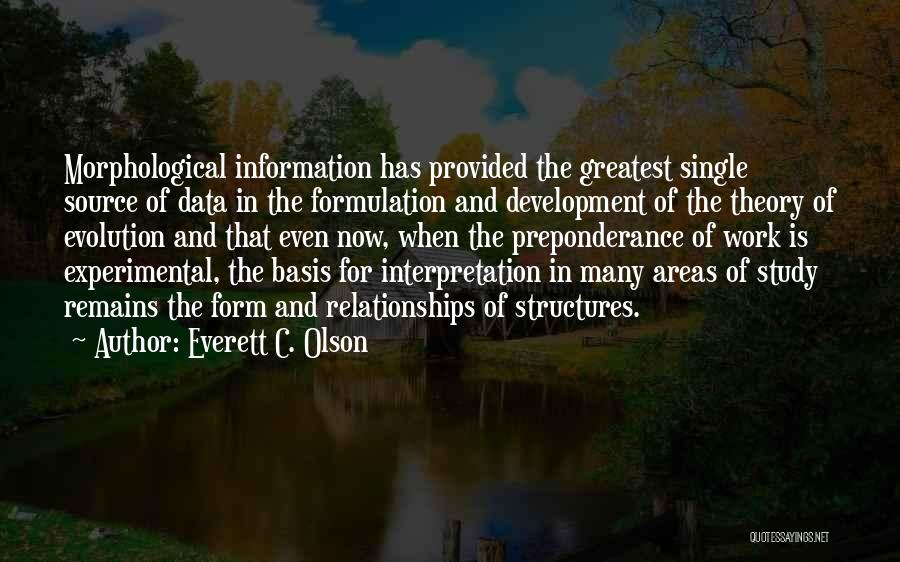 Data Structures Quotes By Everett C. Olson