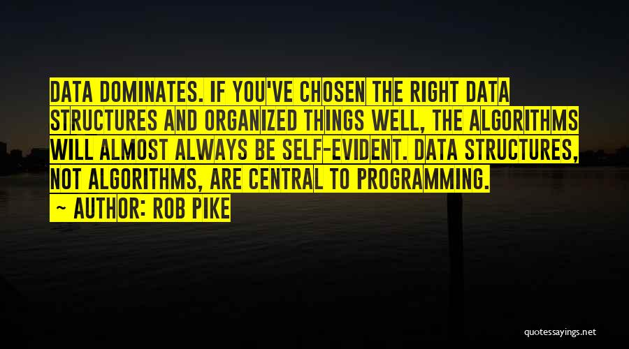 Data Structures Quotes By Rob Pike