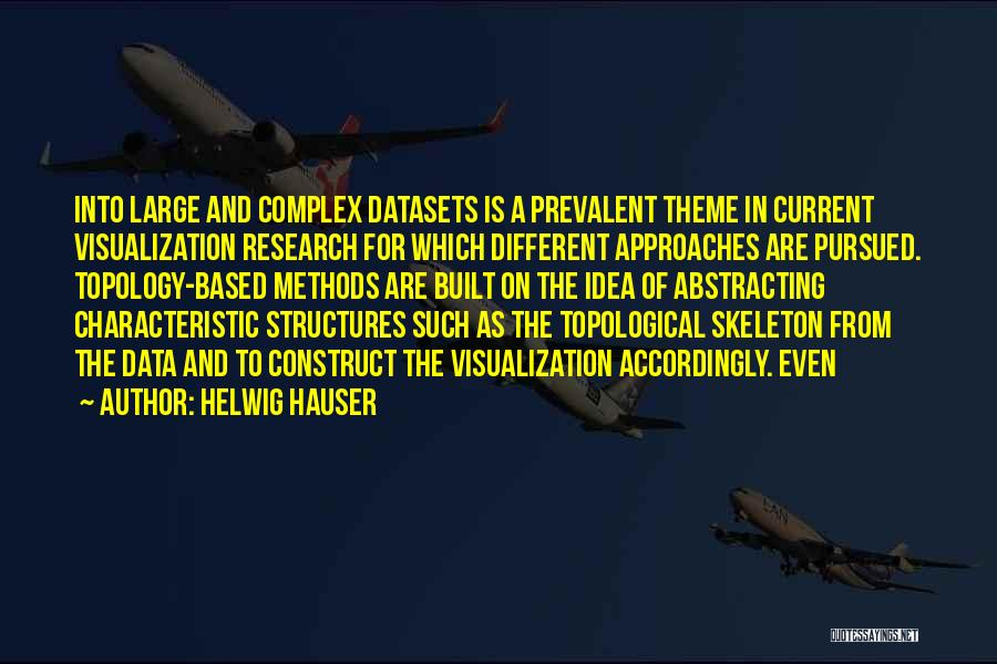 Data Visualization Quotes By Helwig Hauser