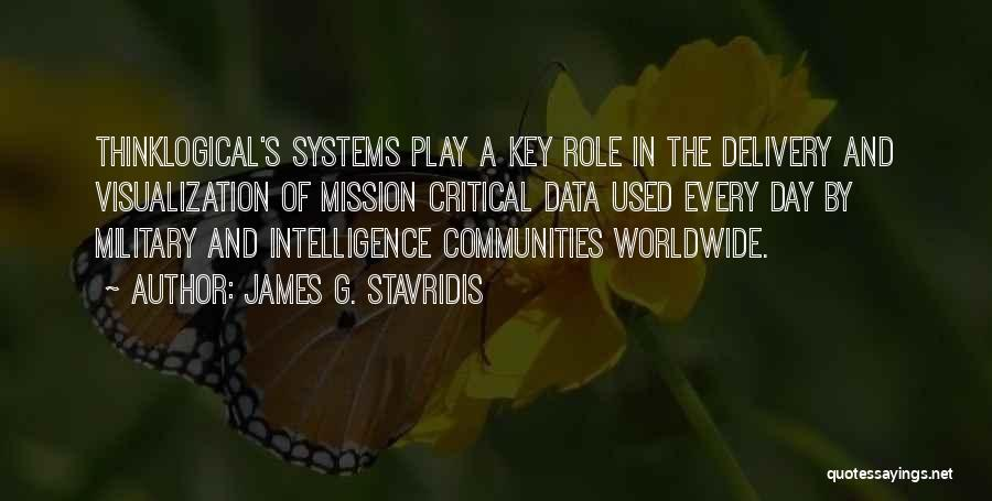 Data Visualization Quotes By James G. Stavridis