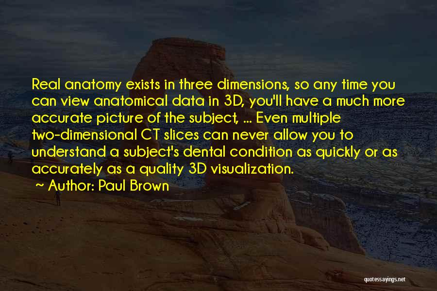 Data Visualization Quotes By Paul Brown