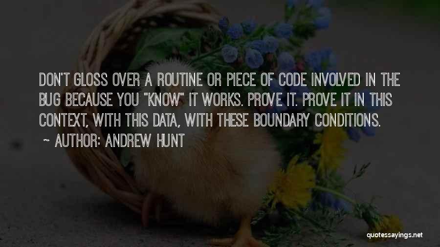 Data Viz Quotes By Andrew Hunt