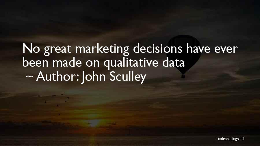 Data Viz Quotes By John Sculley