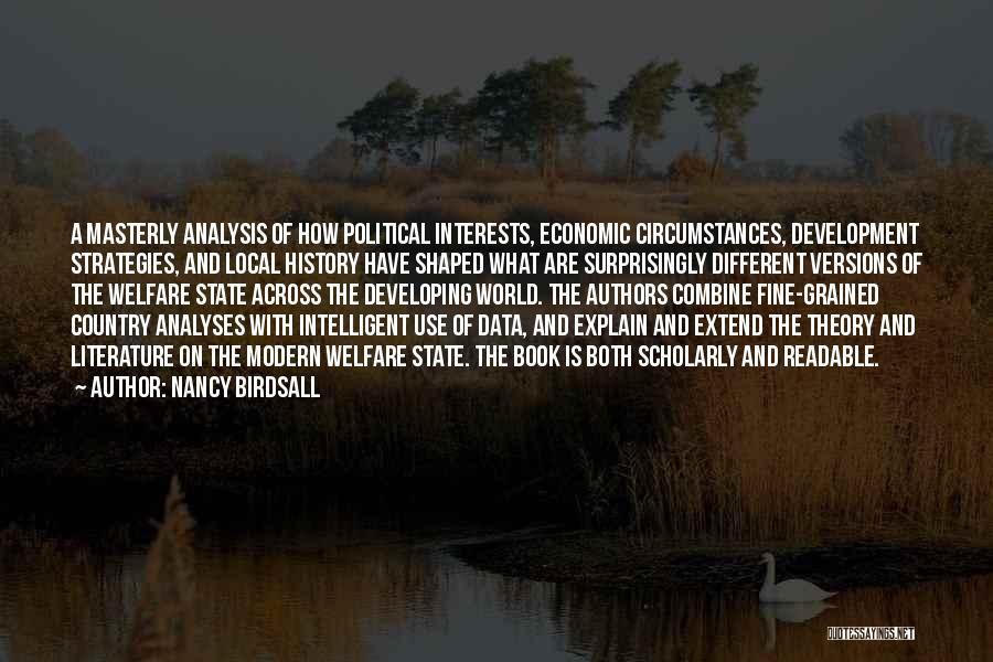 Data Viz Quotes By Nancy Birdsall