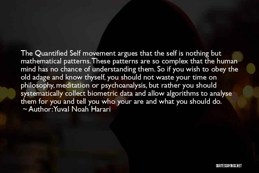 Data Viz Quotes By Yuval Noah Harari