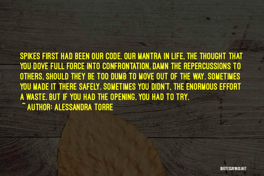 Daughter And Father Bond Quotes By Alessandra Torre