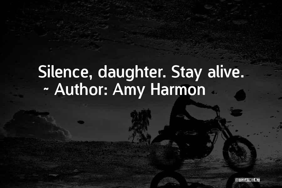 Daughter Inspirational Quotes By Amy Harmon