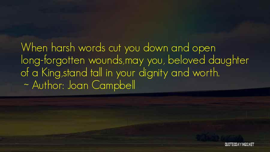 Daughter Inspirational Quotes By Joan Campbell