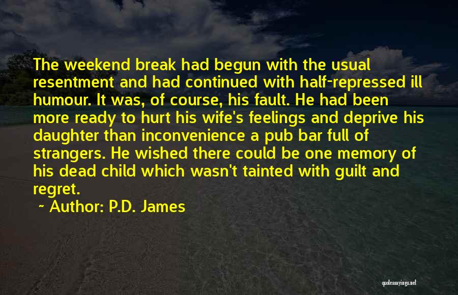 Daughter's Marriage Quotes By P.D. James