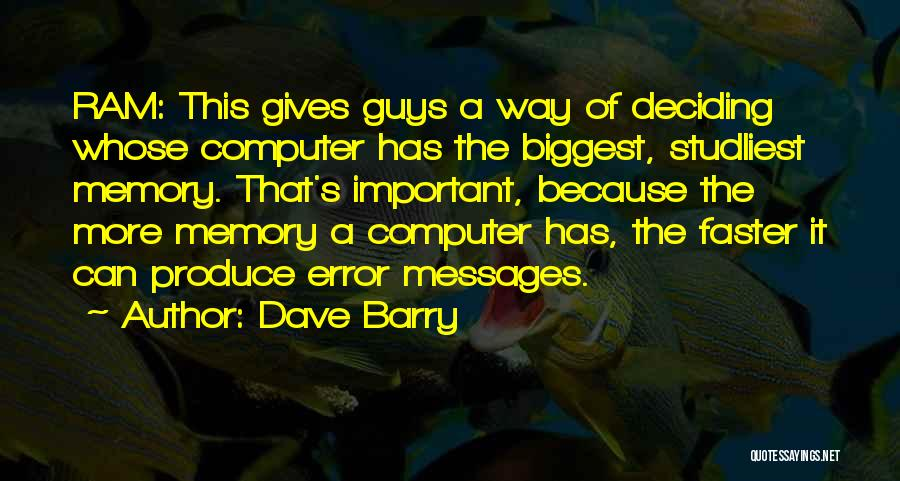 Dave Barry Quotes 546577