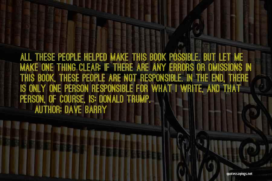 Dave Barry Quotes 810469