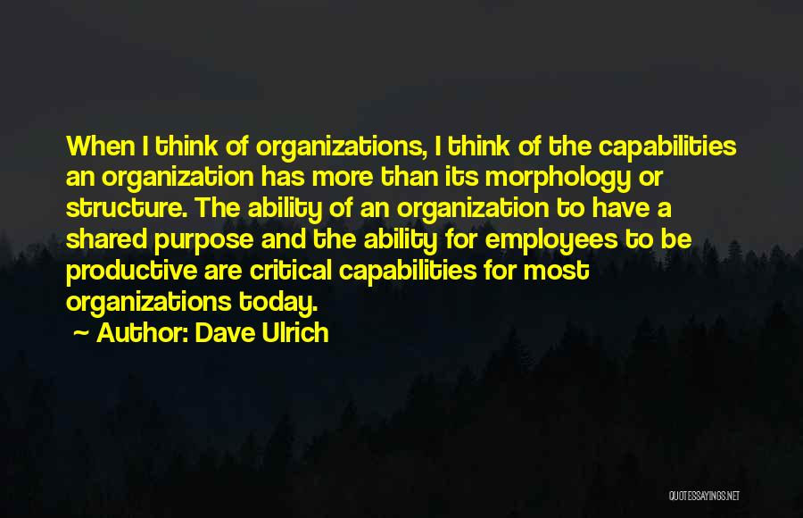 Dave Ulrich Quotes 1964741
