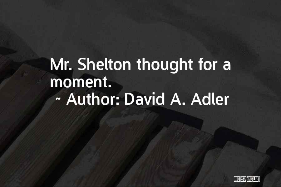 David A. Adler Quotes 1129602