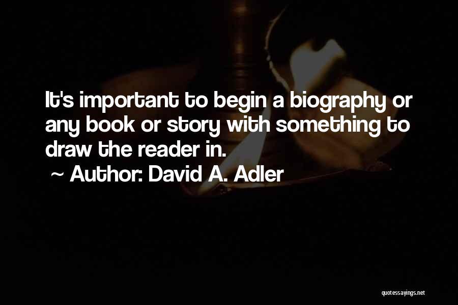 David A. Adler Quotes 1173102