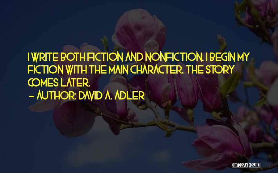 David A. Adler Quotes 1943639